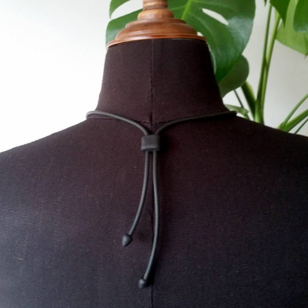 Simple to use clasp for adjustable necklace. Accessible. Handmade.